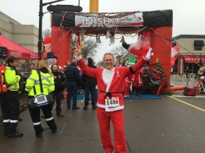 Burlington 5k Santa Run